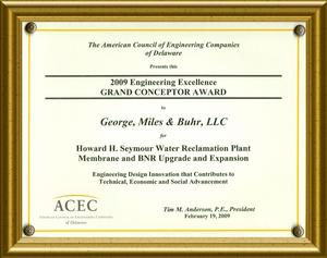 GMB Wins ACEC DE Grand Conceptor Award