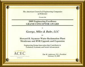 GMB Wins ACEC DE Grand Conceptor Award