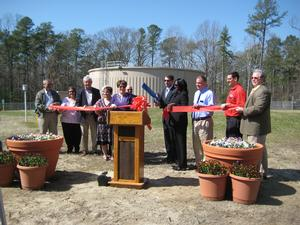 City of Salisbury Celebrates Potable Water Storage Tank Ribbon-Cutting