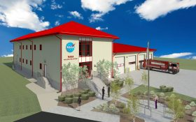 NASA Fire Station Rendering